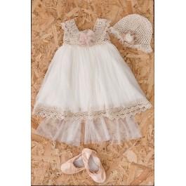 Βαπτιστικό Φόρεμα Ira
