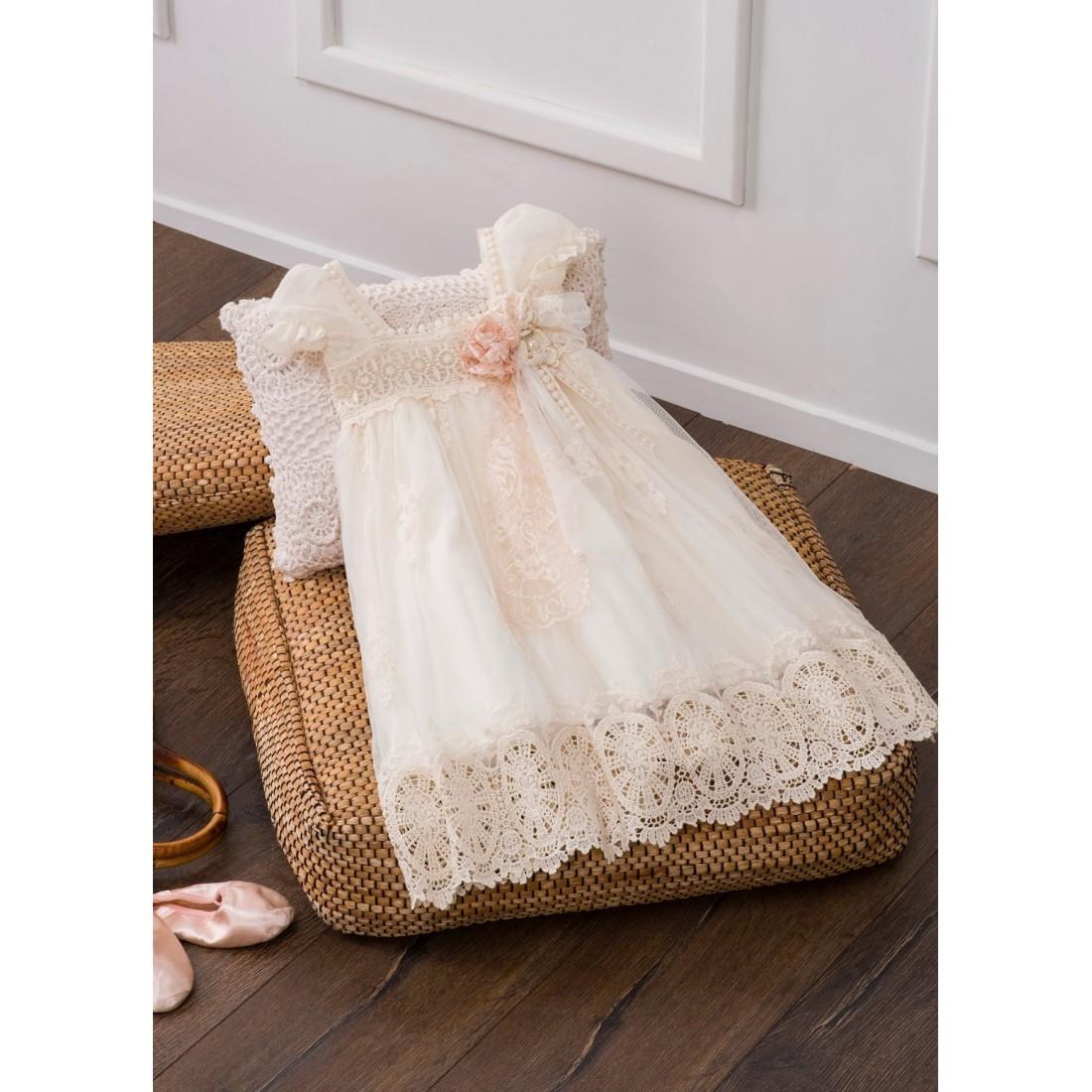 38d8e0bf851c Βαπτιστικό Φόρεμα IOKASTI