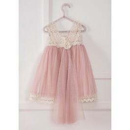 Βαπτιστικό Φόρεμα Vintage Girl