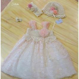 Βαπτιστικό Φόρεμα Sonia
