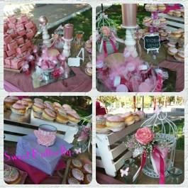 Candy Bar Ρομαντικές Floral Πεταλούδες