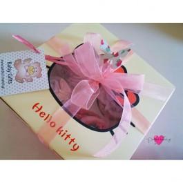 Hello Kitty Κουτί με 4 Cupcakes