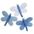 Κρεμαστές Υφασμάτινες Πεταλούδες