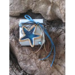 Μπομπονιέρα Γάμου - Βάπτισης Κουτί με Αστερία