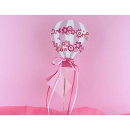 Stick Ροζ Αερόστατο