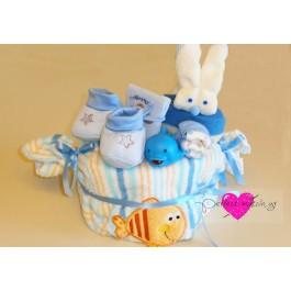 Τουρτάκι-Καραμέλα 'Blue Bath Time'