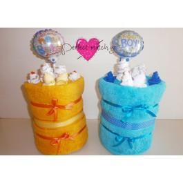 Πολύχρωμες Ανθισμένες Πετσέτες
