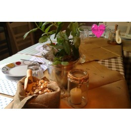 Centerpiece Όσπρια-Αρωματικά Φυτά