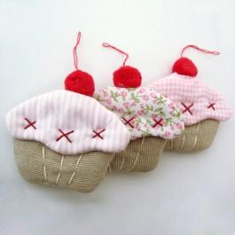 Μπομπονιέρα Γάμου και Βάπτισης Μικρά Χειροποίητα Cupcakes
