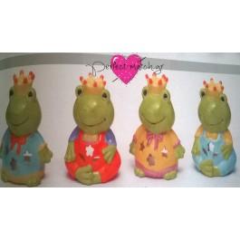 Μπομπονιέρα Βάπτισης Πριγκιπικά Βατραχάκια για Ρεσώ