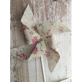 Μπομπονιέρα Γάμου - Βάπτισης  Floral Κολλαριστός Ανεμόμυλος
