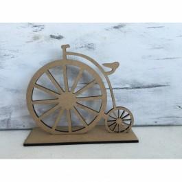 Μπομπονιέρα Γάμου - Βάπτισης  Vintage Ποδήλατο με Βάση