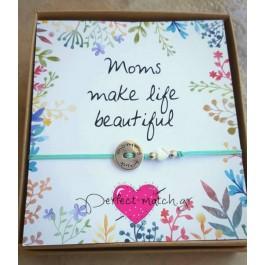 Κουτί Mom Κουμπί-Καρδιά