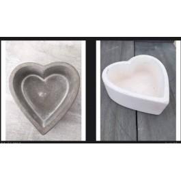 Μπομπονιέρα Γάμου-Βάπτισης Πέτρινες Καρδιές Μπώλ