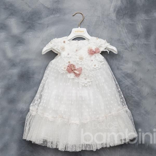 Βαπτιστικό Φόρεμα Ioli