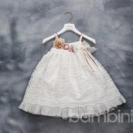 Βαπτιστικό Φόρεμα Ourania