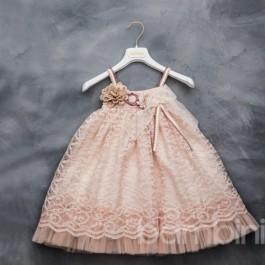 Βαπτιστικό Φόρεμα Ismini