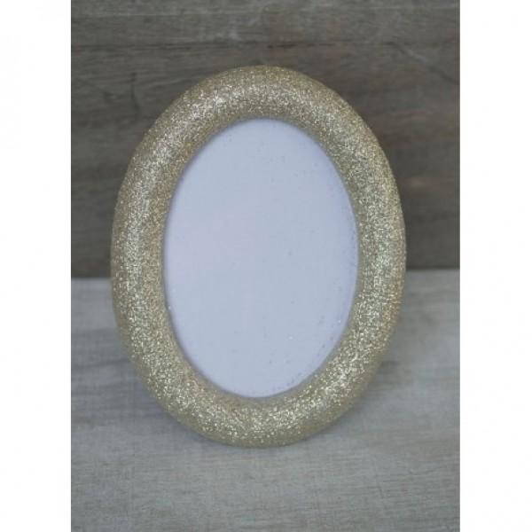 Μπομπονιέρα Γάμου-Βάπτισης Κορνίζα με Glitter