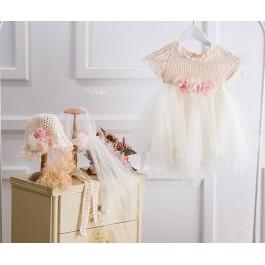 Βαπτιστικό φόρεμα Melitini