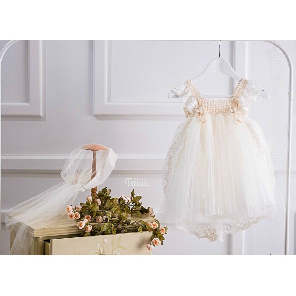 Βαπτιστικό Φόρεμα Ifigenia
