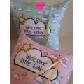 Βρεφικό Διακοσμητικό Μαξιλάρι 'Welcome Little Baby'