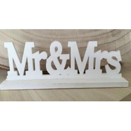 Μεσαίο Διακοσμητικό Mr & Mrs