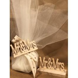 Μπομπονιέρα Γάμου Mr & Mrs