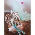 Μπομπονιέρα  Γάμου-Βάπτισης Retro Ποδήλατο με Μάτι